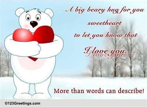 Hug Your Sweetheart Day! Free Hug Your Sweetheart Day