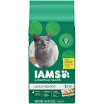 Iams ProActive Health Cat Nutrition, Premium, Lively Senior, 11+ Years - 7 lb