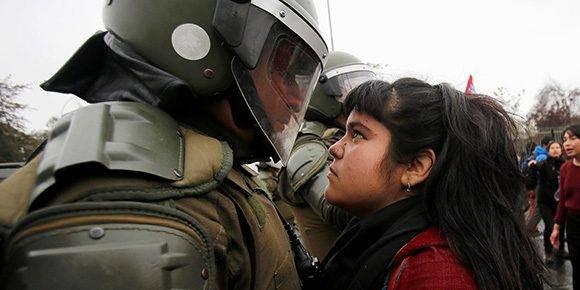 La foto que está dando la vuelta al mundo. Foto: Reuters/ Carlos Vera