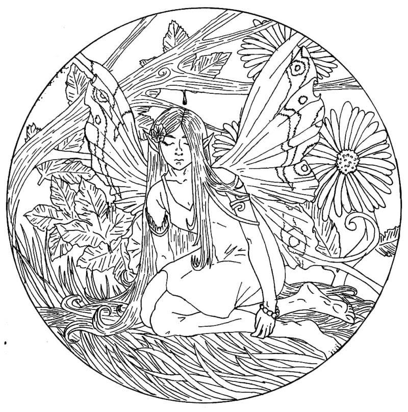 Ausmalbilder für erwachsene: Mandala zum ausdrucken ...