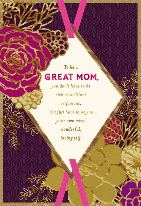 You're an Amazing Mom Mother's Day Card   Greeting Cards