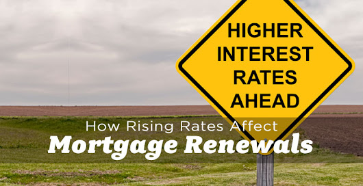 How Rising Mortgage Rates Affect Renewals - The Edmonton Real Estate Blog