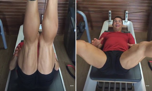 Cristiano Ronaldo reveals the secret behind his huge hamstrings