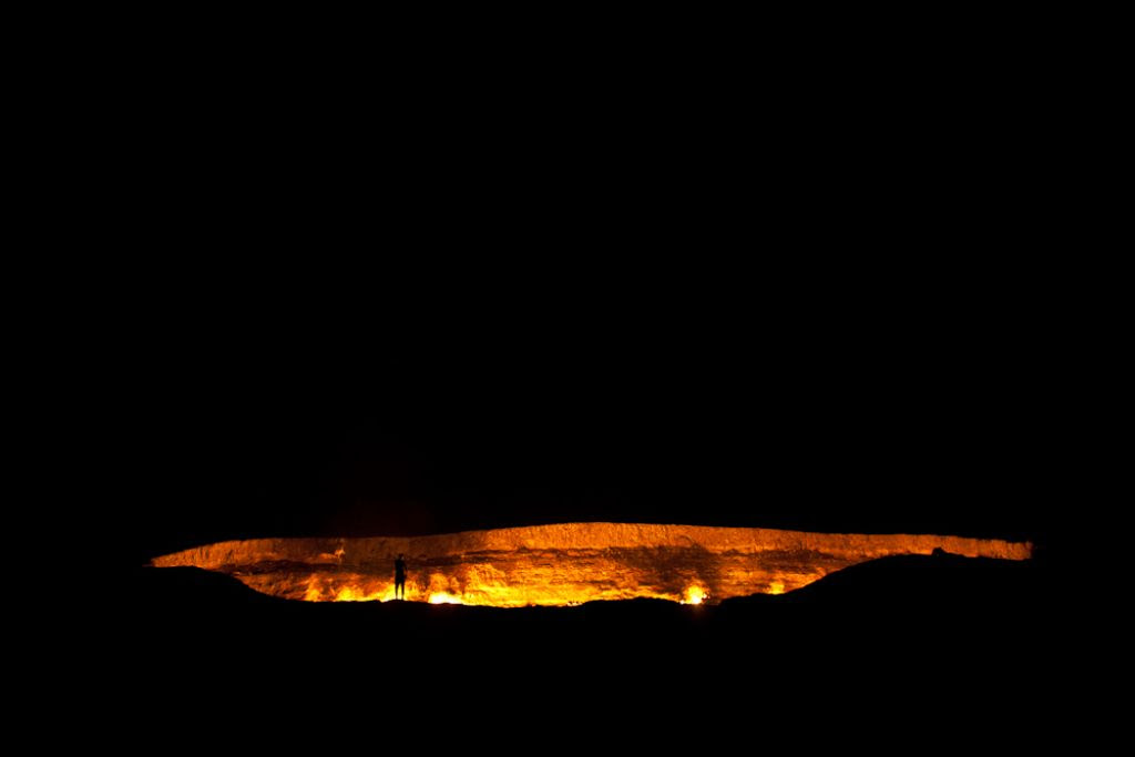 darvaza1 The Door to Hell in Darvaza aka Gas Crater