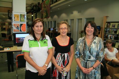 Cathy Hilder, Jo McGill and Wendy Quihampton