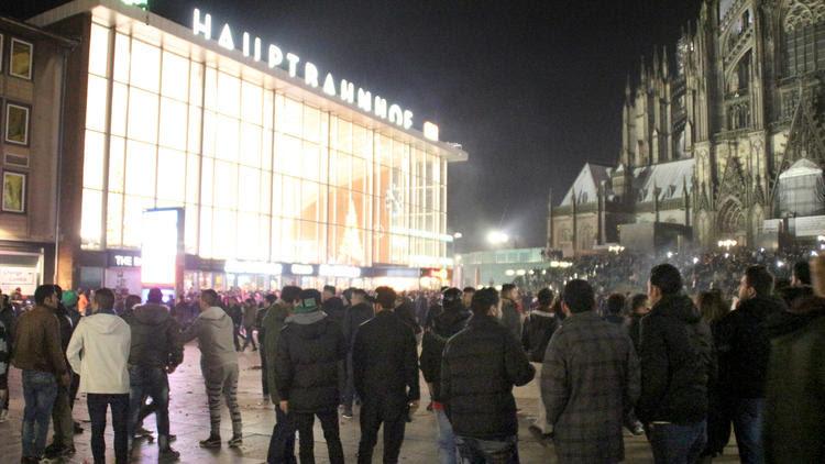 Cologne train station
