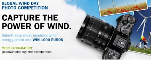 GLOBAL WIND DAY - CAPTURE THE POWER OF WIND
