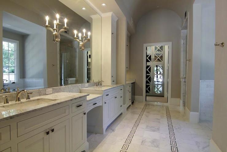 Barrel Ceiling Design - Transitional - bathroom