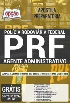 Apostila AGENTE ADMINISTRATIVO PRF 2017.