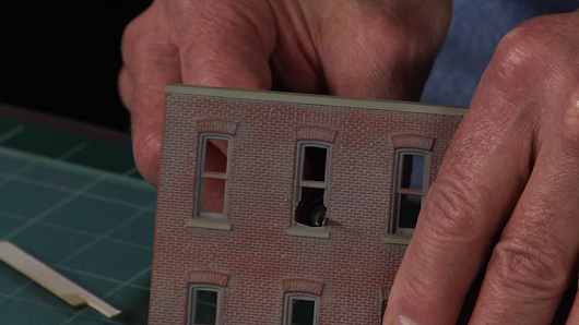 Making Realistic Windows for Model Railway Buildings