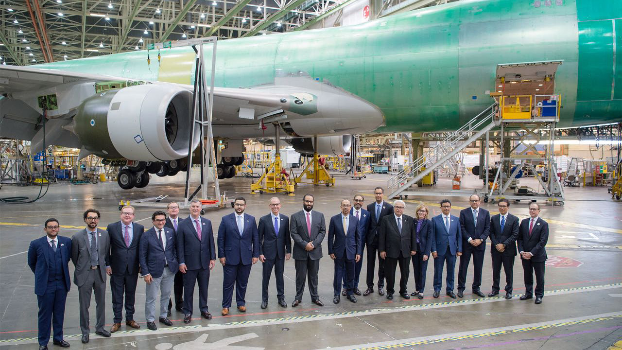 Image result for Boeing, Saudi Arabia Create MRO Military Aircraft Company
