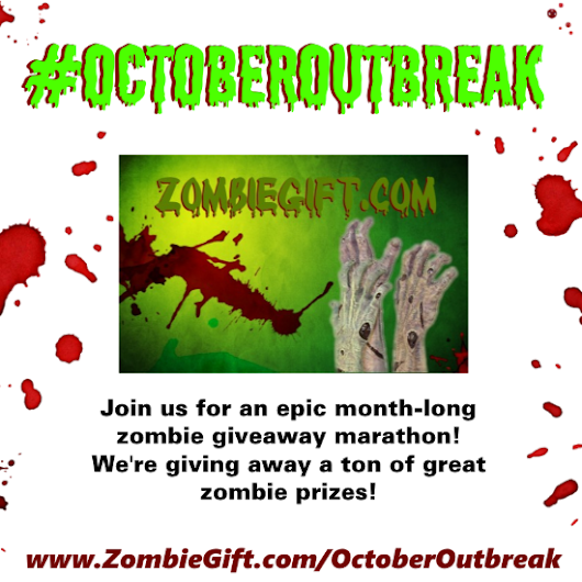 October Outbreak 2014: A Month of Zombie Giveaways! #OctoberOutbreak