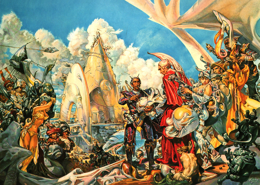 Josh Kirby - The Voyage Of The Ayeguy (Departure) 1980