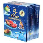 Disney 5-Minute Bedtime Stories: 12 Book Box Set