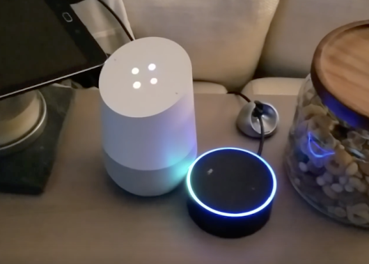 Amazon Echo and Google Home hilariously converse in a theoretically infinite loop (video)