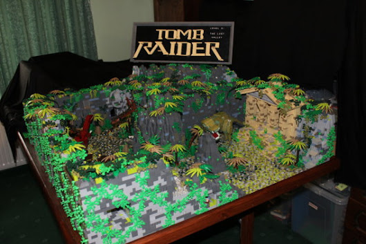 Tomb Raider: The LEGO Valley | AUSRETROGAMER