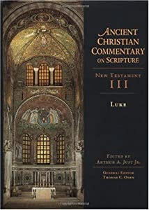 """Cover of """"Luke (Ancient Christian Comment..."""