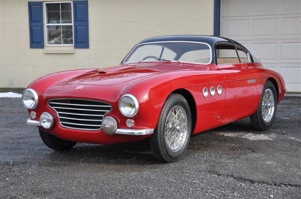 Photo D Auto Abarth 205 Vignale Gt Berlinetta 1950