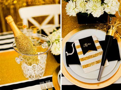 Gold and Black New Year's Eve Party   Evite