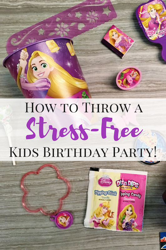 How to Throw a Stress-Free Kids Birthday - Working Mom Magic