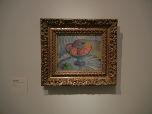 DSCN7958 _ Fruit Dish on a Garden Chair, c. 1890, Paul Gauguin (1848-1903), LACMA