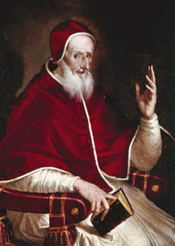 St. Pius V, by El Greco