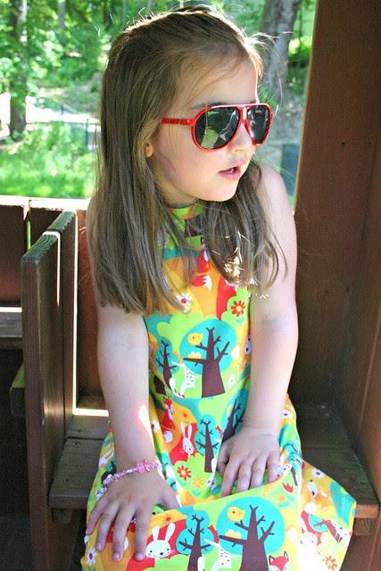 summer forest dress