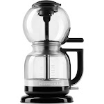 KitchenAid Siphon Brewer KCM0812OB 8-Cup Coffee Maker - Onyx Black