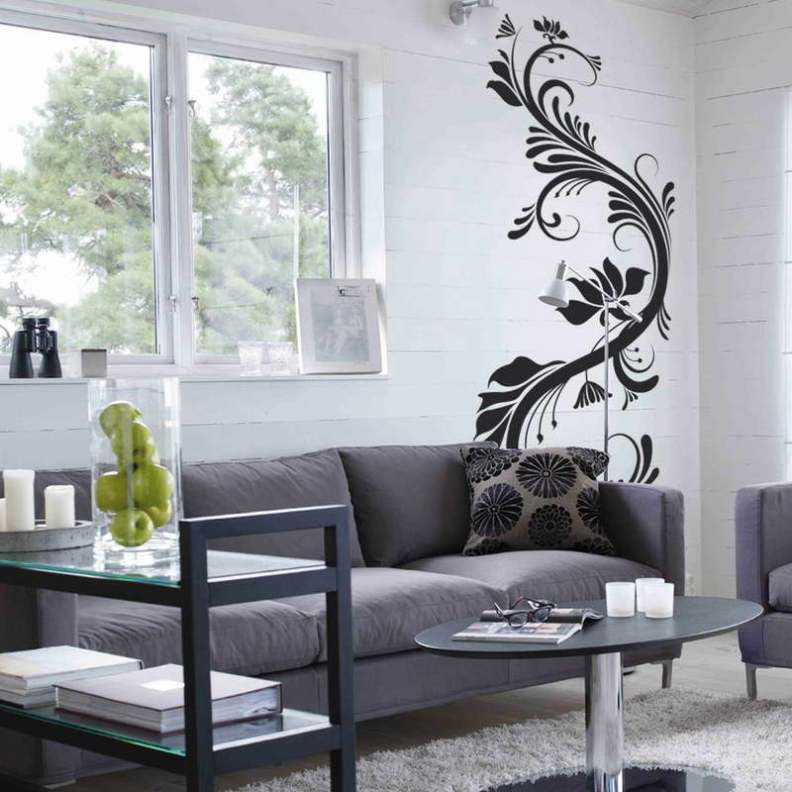 33 Wall Painting Designs To Make Your Living Room ...