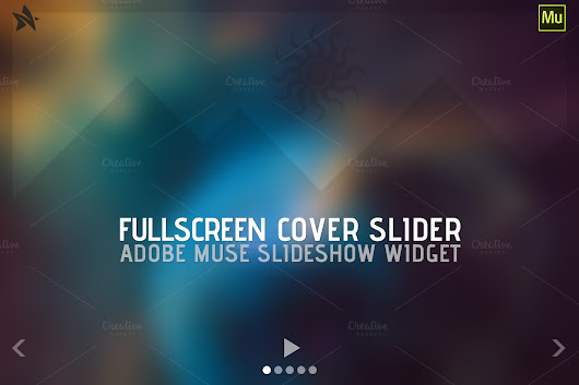Fullscreen Cover Slider - Adobe Muse ~ Plug-ins on Creative Market