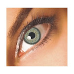 Bella Platinum Grey and Brown Theatrical Contact Lenses