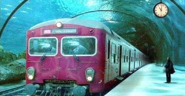 India to Get an Underwater Rail Network to Dubai Soon