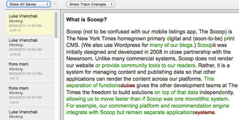 Scoop: A Glimpse Into the NYTimes CMS