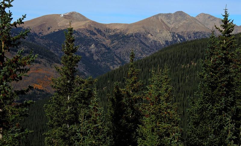 Alpine rail grade, Sawatch Range, Colorado
