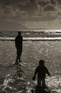 father-and-son-on-ocean