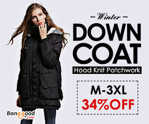 Banggood Women Plus Size Coats