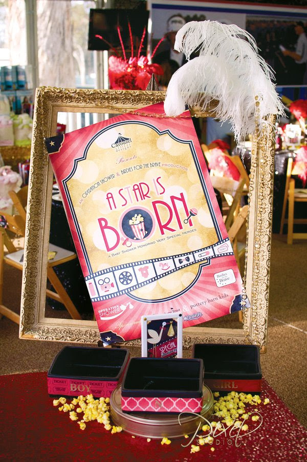 A Star Is Born Hollywood Baby Shower Part 1 Hostess With The
