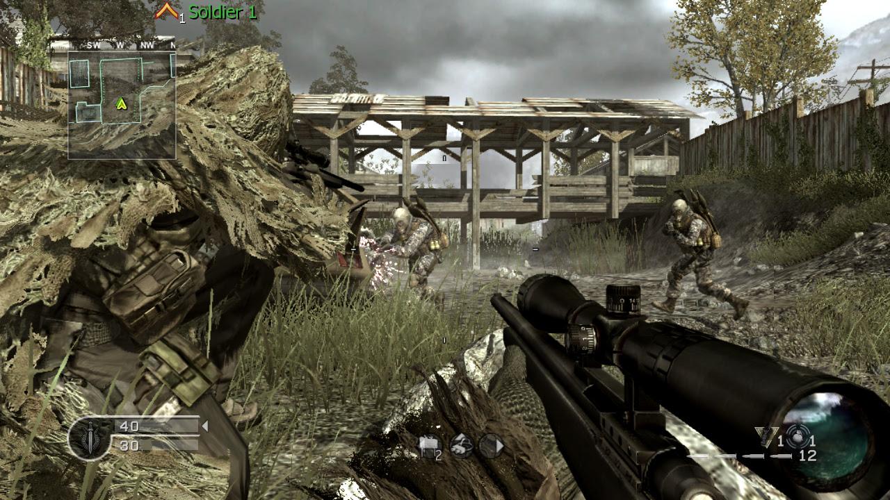 Call Of Duty Modern Warfare 4 Wallpaper 1280x720 25381