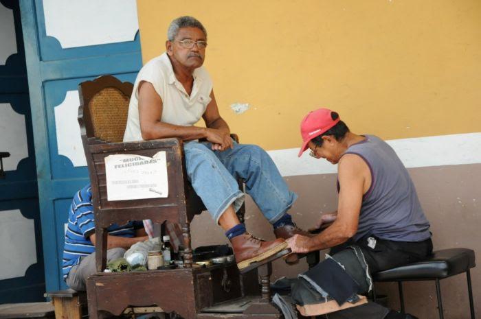 El trabajo por cuenta propia se comporta de manera favorable. (Foto Vicente Brito/Escambray)