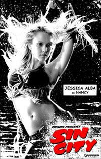 Jessica Alba as Nancy in SIN CITY.