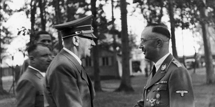 Himmler veía a Adolf Hitler como un Mesías para Alemania.
