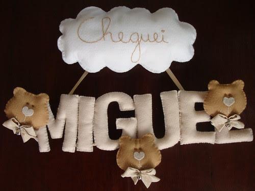 À espera do Miguel! by Menina Prendada - Manualidades da Dayse