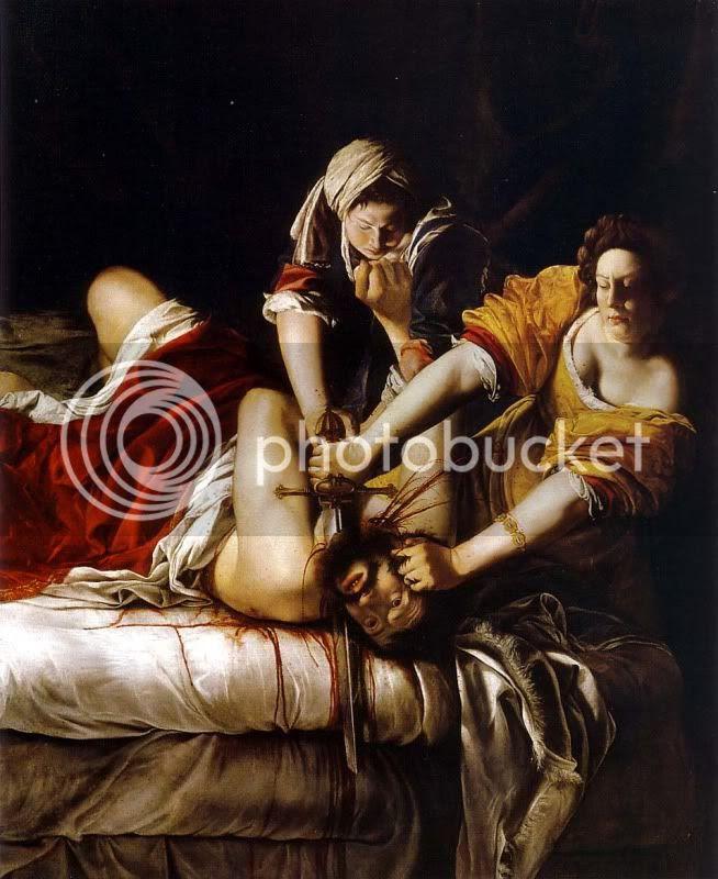 Gentileschi Judith y Holofernes