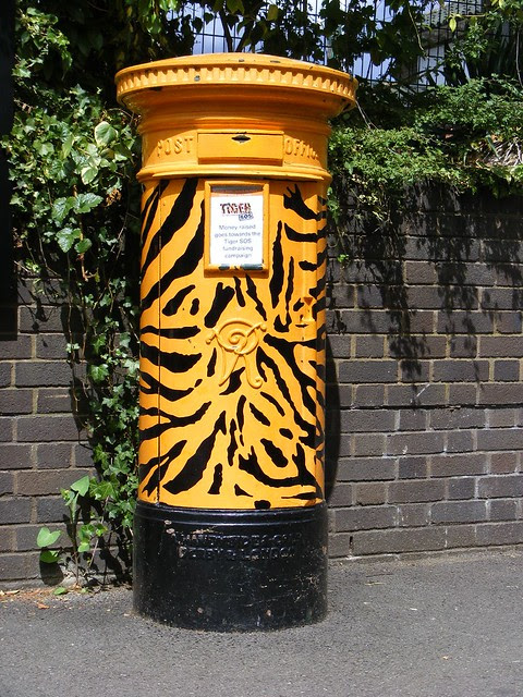 Handyside VR Post box, London Zoological Gardens, NW1