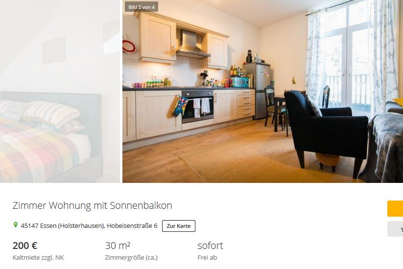 Essen Single Wohnung