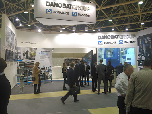 DANOBATGROUP PRESENTS THE LATEST DEVELOPMENTS OF DANOBAT AND SORALUCE AT THE METALLOBRABOTKA EXHIBITION IN MOSCOW