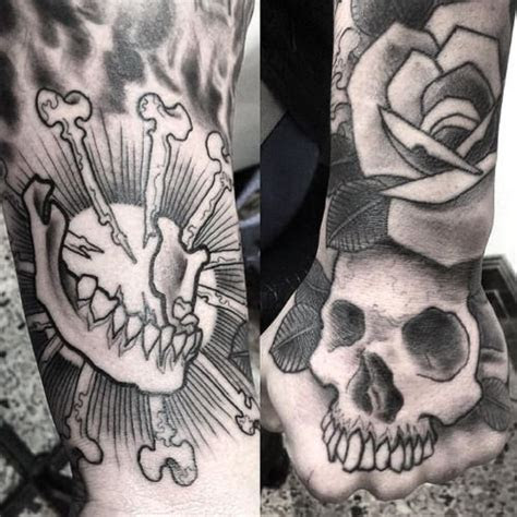 job stopper tattoo hand tattoo pablo morte