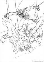 Dibujos Para Colorear E Imprimir De Spiderman 4