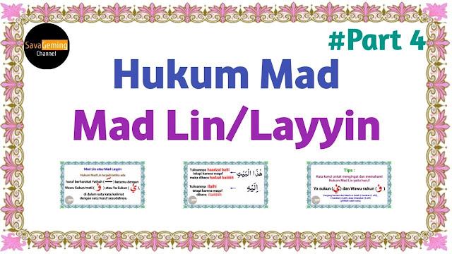 Hukum Bacaan Mad Lin