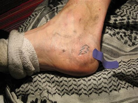 wallpapers star collection lightning bolt ankle tattoo